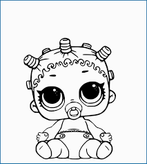 Lol Surprise Doll Printable Coloring Pages Astonishing 40 Free