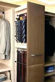 belt rack closet tie racks organizers the home depot white closet tie rack organizers closet organizers
