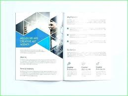 4 Panel Brochure Template Free Fold Brochure Templates Examples 6 Panel For Cv