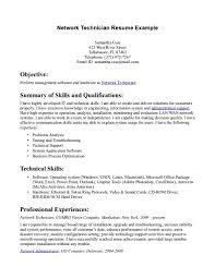 Writing A Skills Resume