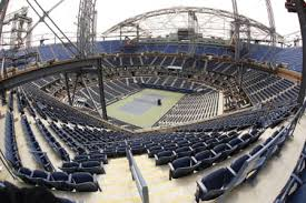 australian open roof ap photos us open roof taking shape in new york atlantic broadband