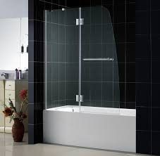 image of glass tub shower doors