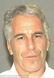 epstein was arrested pictured is his mugshot and sentenced for soliciting an underage