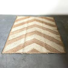 chevron jute rug chevron pattern jute rug chevron jute rug pottery barn