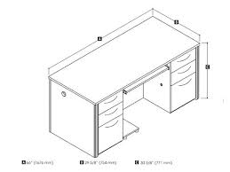 office desk size. Standard Office Desk Dimensions Height Cm Pertaining To Size D