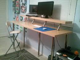 diy stand up desk stand up desk attachment diy sit stand desk reddit