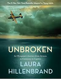 unbroken the young adaptation an olympian s journey from airman to castaway to