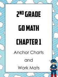 2nd Grade Math Anchor Charts 2nd Grade Go Math Ch 1 Anchor Charts And Work Mats