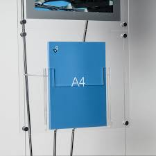 Acrylic Flyer Display Stand A100 Brochure Stand Free Standing Acrylic Literature Stands 79