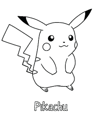 Coloring Pages Pokemon Coloring Sheets Pikachu Pages And Friends