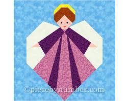 Guardian Angel quilt block paper pieced quilt patterns PDF & 🔎zoom Adamdwight.com