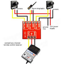 similiar balance plug fpv camera setup keywords fpv multi camera mini two way electronic switch video switcher module