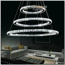 diameter 400mm led crystal ring chandelier light raimond crystal circle lamp top quality 100 guarantee fast white chandelier orb chandelier from
