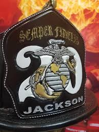 hand carved full custom helmet shields firefighter shields