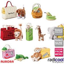 aurora rod cbell dear zoo plush cuddly soft toy teddy gift new baby new
