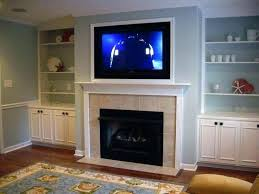 above gas fireplace corner with google search mounting ideas g tv television