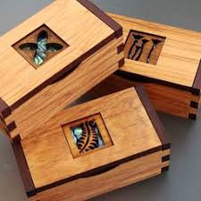 Decorative Wood Boxes With Lids New Zealand made decorative wooden boxes unique keepsake memory 11
