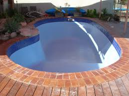 Pool painting on Marblesheen