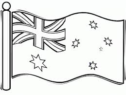 Small Picture Australian Flag Coloring Page For Kids Flags Coloring pages of