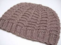 Easy Knit Hat Pattern Straight Needles New Knitted Patterns