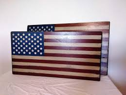 medium small 30 slat wood flag rustic american flag shiplap wood flag american flag wall art wood american flag fixer upper decor
