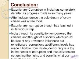 essay on political corruption in essay on political corruption in