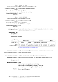 European Resume For Hospitality And Tourism Administration - Job 2 Grow