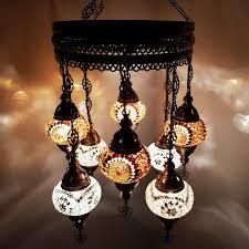 Turkish Lights Uk Details About Turkish Moroccan Arabian Glass Mosaic Chandelier Lamp Light 8 Bulb Uk Seller