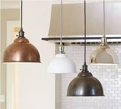 pb classic pendant metal bell copper finish industrial regarding in copper pendant light kitchen