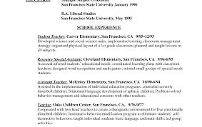 Resume Examples Teacher Best Teacher Resume Example Livecareer