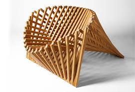 Bamboo design furniture Homemade Posted On Wed September 9 2015 By Ana Lisa Alperovich In Furniture Green Design Moco Loco Submissions Spacesaving Chair Pops Up From Single Sheet Of Bamboo 6sqft