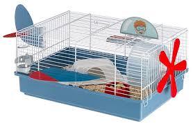 Клетка для грызунов <b>Ferplast</b> Criceti 9 Plane 46х29.5х23 см ...