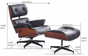 eames chair plans. eames chair dimensions replica of lounge and ottoman | find buy plans