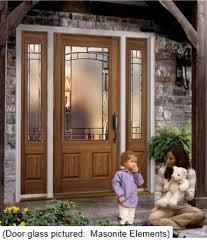 in stock steel or fiberglass entry doors