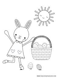 Choose your favorite coloring page and color it in bright colors. 9 Easter Coloring Pages For Kids Free Printables Fun Loving Families