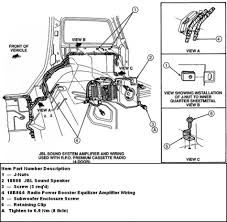 Speaker wire diagram for car audio rockford fosgate wiring sony colors diagrams a stereo and