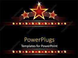 star ppt background powerpoint template big stars background with stars and lights