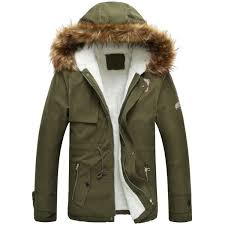 drawstring zippered long sleeve fur hooded sherpa coat army green 2xl