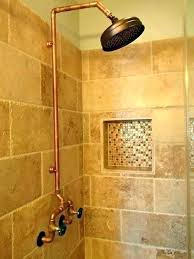 Copper shower fixtures Rubbed Bronze Copper Shower Fixtures Copper Shower Fixtures Showers Bespoke And Brass Taps Brushed Copper Pipe Fixtures Clearandneatsite Copper Shower Fixtures Copper Shower Fixtures Showers Bespoke And