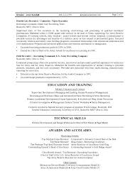 Best Resume Outline Interesting Resume Sample Senior R Samples Database Recruiting Template Access