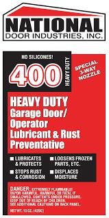 garage door lube400HD National Door Lube 15oz Aerosol Red  Lubricants