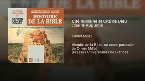 Cité Humaine Et Cité De Dieu Saint Augustin