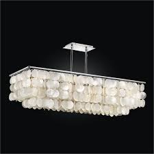 rectangular capiz chandelier bay breeze 634zd39sp