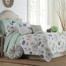 nautical comforter set queen. Wonderful Queen FADFAY Home Textile 100 Cotton Ocean Bedding Set Bed Covers Seashells  Beach Themed Nautical Inside Comforter Queen E