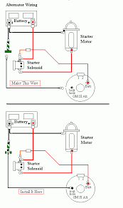 cj7 alternator wiring diagram cj7 wiring diagrams online alternator and painless wiring jeepforum com
