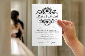 Microsoft Invitation Diy Wedding Invitation Template Download Instantly Editable Text