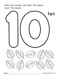 Number 10 preschool worksheets 01 number 10 worksheets for preschoolers free worksheets library on social security worksheet