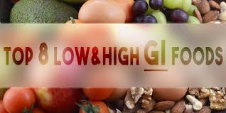 Top 8 Low And High Glycemic Index Foods Healthy Living