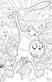 Adventure Time Lineart Google Search