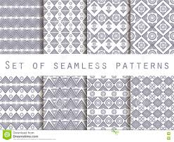 bed sheet texture seamless. Plain Seamless Set The Texture Seamless In Ethnic Style Geometric Pattern For  Wallpaper Bed Linen Tiles Fabrics Backgrounds Vector Illustration Intended Bed Sheet Texture Seamless S